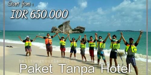 Paket Tour Tanpa Hotel